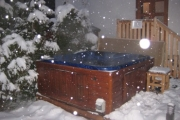 Hottub after skiing