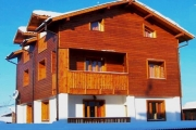 Front of Chalet Isabella in Bansko